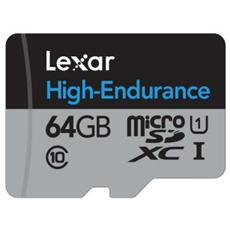 MicroSDHC da 64 GB UHS-I Classe 10