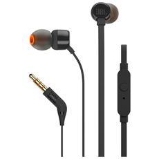 Auricolari In-Ear T110 con Microfono colore Nero