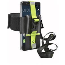 """Custodia Sport da braccio Universale per smartphone da 4.5"""" a 6"""" colore Nero"""