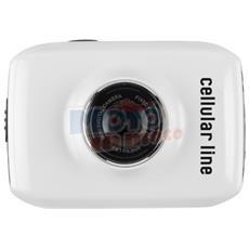 Motion Camera Mini Lcd Bianco