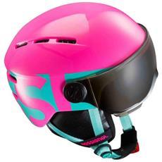 Visor Jr Girl Pink Rossignol Taglia Xs-s