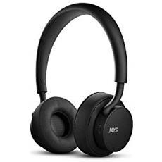 U Padiglione auricolare Stereofonico Cablato / Bluetooth Nero auricolare per telefono cellulare