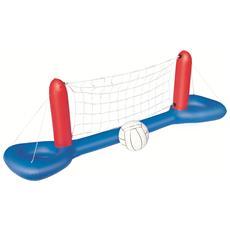Rete per palla a volo gonfiabile per piscina da giardino cm 244x64
