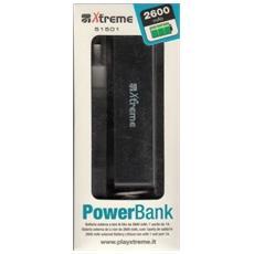 Power Bank 2600 mAh Nero