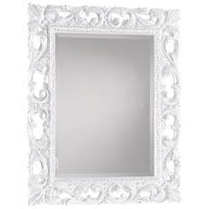 Specchio Molato Intagliato Argento