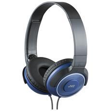 HA-S220 Nero, Blu Circumaurale Padiglione auricolare cuffia