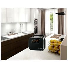 M-081 R, C, Portatile, LED, Digitale, FM, MW, AC, Batteria