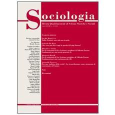 Sociologia. Rivista quadrimestrale di scienze storiche e sociali (2004) . Vol. 1