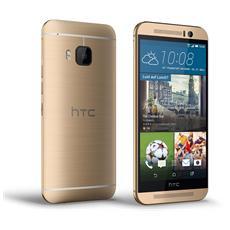 "One M9 Oro 32 GB 4G/LTE Display 5"" Quad HD Slot Micro SD Fotocamera 20 Mpx Android Europa"