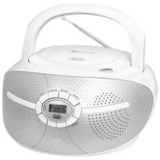 Radioregistratore C / Cd Bluetooth Bianco