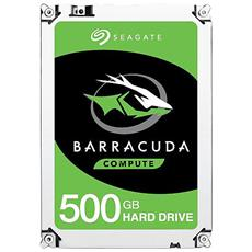 "Hard Disk Interno BarraCuda 500 GB 3.5"" Interfaccia Sata III 6 Gb / s 7200 rpm Buffer 32 MB"
