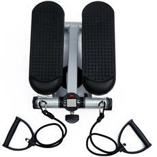 Mini Stepper Professionale Con Corde Elastiche, In Acciaio, 38x30x16cm