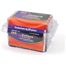 24 Pezzi Batterie Alcaline Lr03 Aaa
