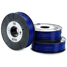 Filamento Per Stampante 3d Abs - M2560 Blue 750 - 206127 Plastica Abs 2.85 Mm Blu 750 G