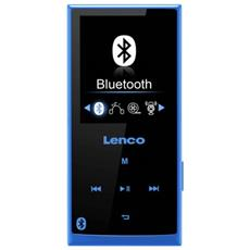 Xemio 760 BT 8GB, MP4, Nero, Blu, Flash-media, MicroSD (TransFlash) , TFT, APE, FLAC, MP3, OGG, WAV, WMA