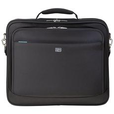 "Borsa Notebook fino a 18"" in Poliestere Nero 100402202."