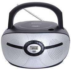 Radioregistratore C / Cd Bluetooth Nero