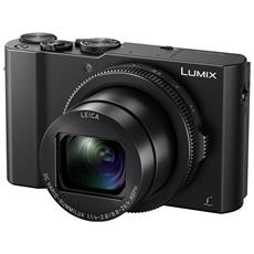 "Lumix DMC-LX15 Nero Sensore MOS 20Mpx Display 3"" Filmati Ultra HD 4K Wi-Fi"