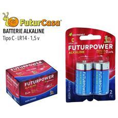 Batteria Alkaline C Mezza Torcia Da 2 Pz - 6 Confezioni