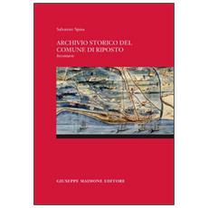 Archivio storico del comune di Riposto. Inventario