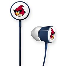 Angry Birds Space Tweeters, Intraurale, Interno orecchio, Chiuso, Cablato, Rosso, 132 x 98 x 22 mm