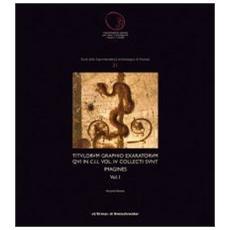 Titulorum graphio exaratorum qui in C. I. L. . Vol. 4: Collecti sunt imagines I-II