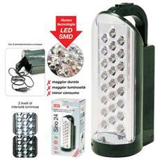Lanterna Ricaricabile 24 Led