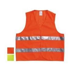 Gilet Alta Visibilita` Veicoli Arancio [ neri ]