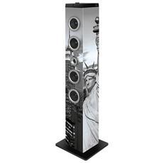 Speaker Audio TW7 Liberty Potenza Totale 40 W Bluetooth Colore Multicolore