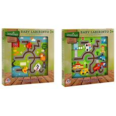 2 Assortiti Labirinto Puzzle In Legno