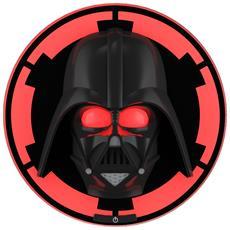 Lampada Da Parete Star Wars Darth Vader In 3D, Batterie Incluse