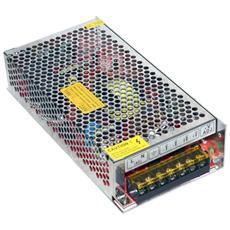Alimentatore Stabilizzato Trasformatore 10a 120w 12v Ip20 Interno 2 Uscite Strisce Led Ex-00004