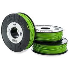 Filamento Per Stampante 3d Pla - M0751 Green 750 - 211399 Plastica Pla 2.85 Mm Verde 750 G
