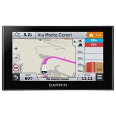 """Camper 660LMT-D Display Touchscreen 6""""Slot MicroSD Mappe Europa 45 Paesi + Aggiornamento mappe, Infotraffico a vita - Italia"""