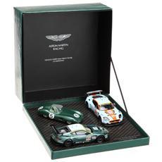 Mc3 Aston Martin Dbr9 Set Le Mans 1/43 Modellino