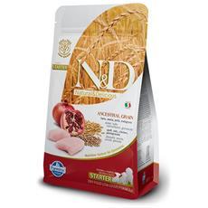 N&d Low Grain Cucciolo Starter Puppy, Pollo E Melograno Gr. 800