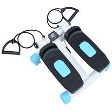 Mini Stepper Per Allenamento Fitness Con Display, Corde Da Training, 40x38x21.5cm