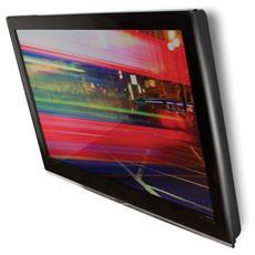 """Supporto Montaggio a Parete per Monitore LCD Acciaio Nera 42"""" 25 kg 360° BTV502 / B"""