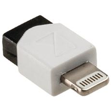 KNM39901W, 8-Pin, USB-2.0 Micro-B, Maschio / femmina, Bianco, Plastica, Blister