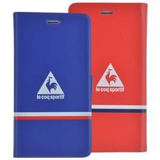 LCSFOLIOREVIP6RB Custodia a libro Blu, Rosso custodia per cellulare