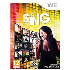 WII - Let's Sing