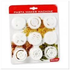 Kit Da 8 Trafile Per Pasta Maker Machine