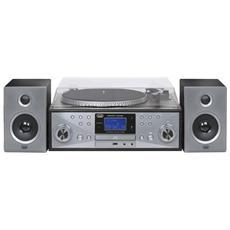 Stereo Giradischi Concerto Cd Encoding Tt 1100 Nero