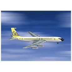 3557476 Boeing 707-320 Malaysia Singap. 1/400 Modellino