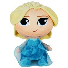 Peluche Elsa Frozen Disney Stilizzata Bambola Disney Principessa Cm. 25