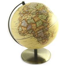 oggetto decorativo 'globe terrestre' 25 cm (vintage) - [ m9678]
