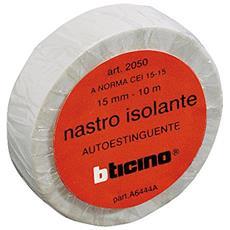 KIT NASTRO ISOL 15MM 10M WHITE