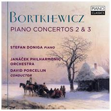 Sergei Bortkiewicz - Concerto Per Pianoforte N. 2 Op. 28 Per La Sola Mano Sinistra, N. 3 Op. 32