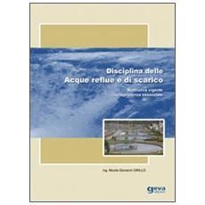 Disciplina delle acque reflue e di scarico. Normativa vigente. Giurisprudenza essenziale
