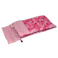 Sacco a Pelo Junior 150 Camo Pink 160x72 cm